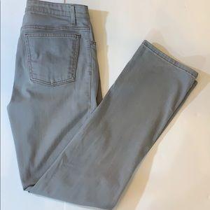 EILEEN FISHER Stretch Jeans. Gray SZ 6